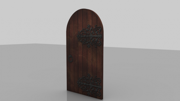 Medieval Door Downloadfree3d Com
