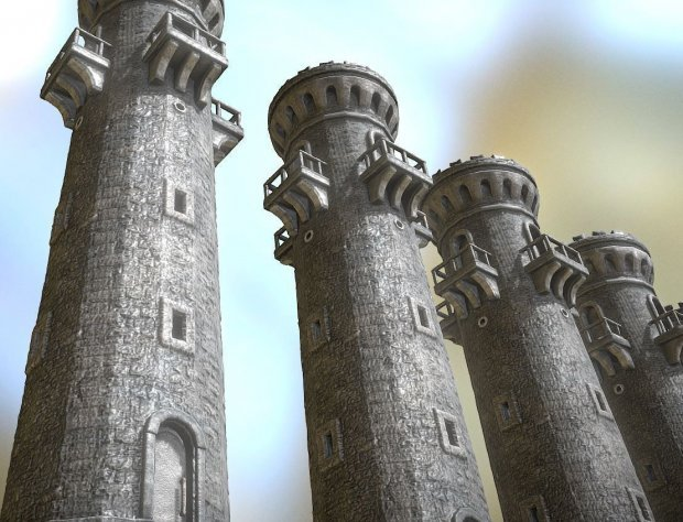 Medieval Guard Tower Free 3d Models