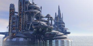 Organodron City 3D model