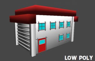 Pallet Town House 3D model