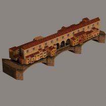 Ponte Vecchio 3D model