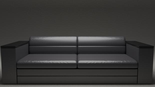 Realistic Modern Sofa