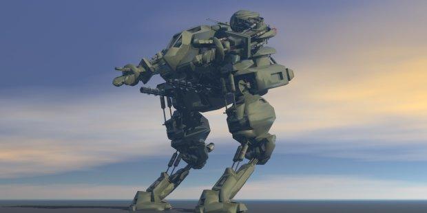 Robo Warrior 3D model