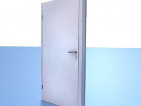 3D Room Door model