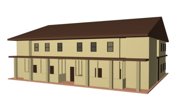School Building | DownloadFree3D.com