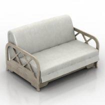 Sofa Chicago 3d model