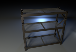Storage Rack 3D model