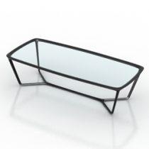 Table ceccotti 3d model