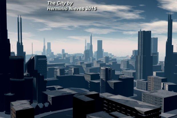 The City Free 3d Models