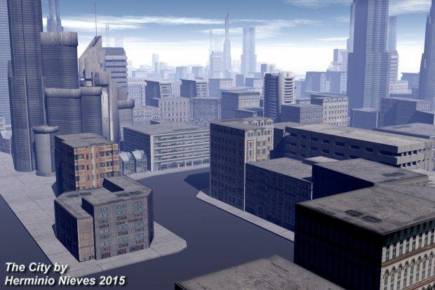 The City | Free 3D models