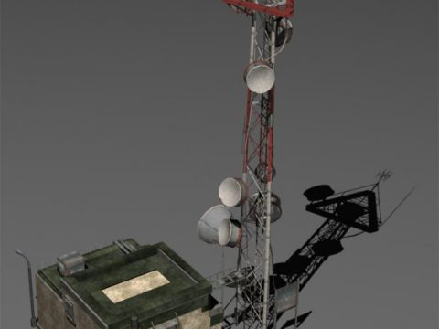 Transmitting Station 3D model
