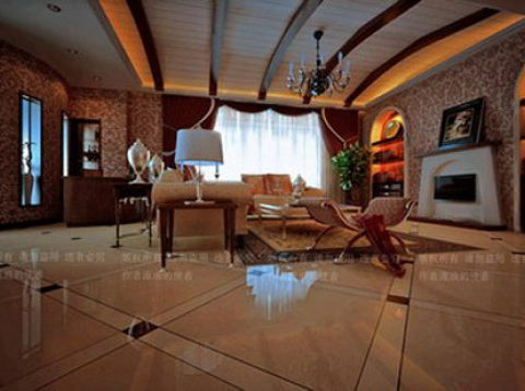 Victorian Living Room Interior 3D model