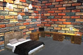 House-bed room 3D model