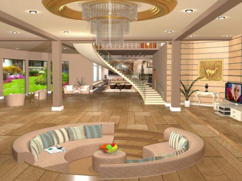 House interior 3D model