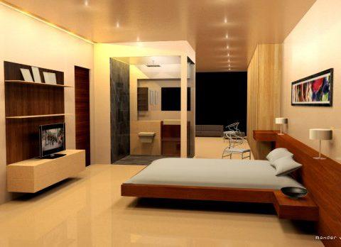 Luxury house interior 3D model