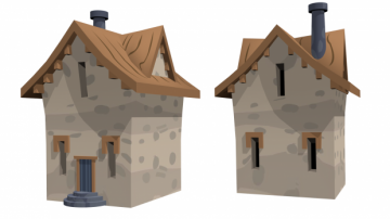 Pony starlight house 3D model
