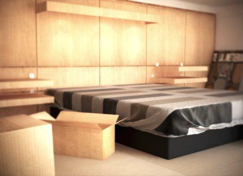 Realistic room 3D model