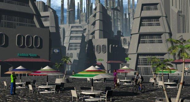 Sci-fi scenery building | Free 3D models