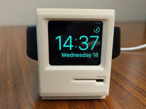3D Apple Watch Charging Dock - Classic Mac model