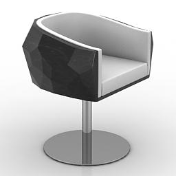 Armchair Fendi Crystal 3d model