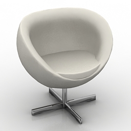 Armchair Fora Form Planet 3d model free download