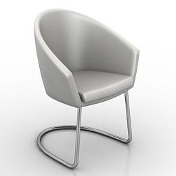 Armchair Megan 3d model