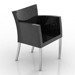 Armchair Montis Cira 3d model