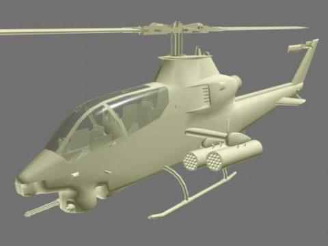 Bell AH-1 3D model