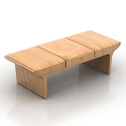 Bench Laurel 3d model