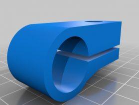 Camera Mount for Rockler Magnifying Lamp 3D model