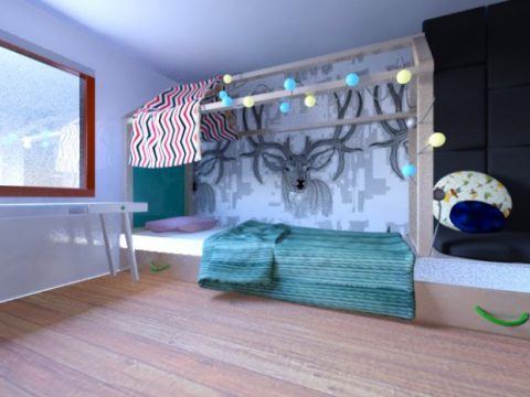 Childroom 3D model
