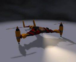 Drone Osprey 3D model