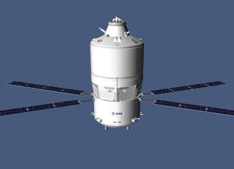ESA ATV 3D model
