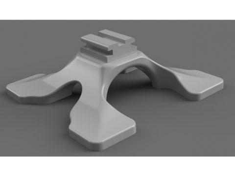 Sony / Minolta flash foot. Flash stand