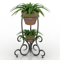 Flower stand 3d model