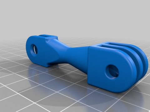 GoPro Extension 50mm 3D model