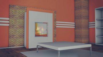 Kamin Room 3D model