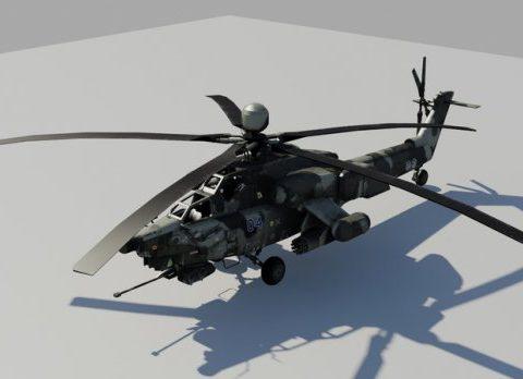 Mi-28N Havoc 3D model