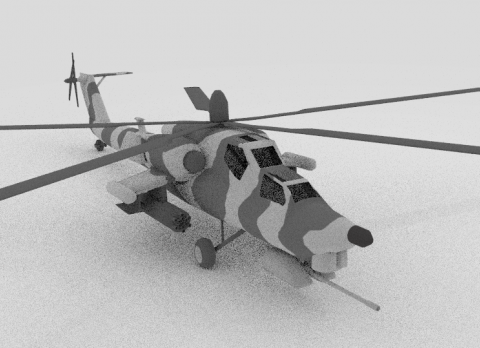 Mi28 Havoc 3D model