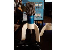 3D Microphone tripod model