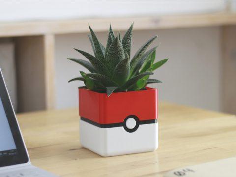 Pokemon Planter - Pokeball Minimal Planter 3D model