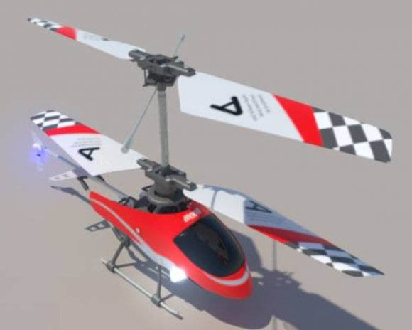 RC Helicopter 8008