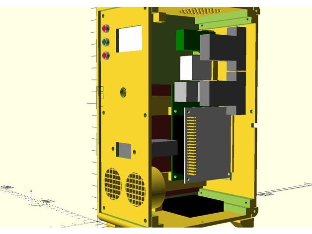Raspberry Pi Desktop Tower Case | Free 3D models