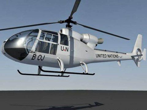 SA342 Gazelle 3D model