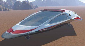 Shuttle Rayder Sydonia 3D model