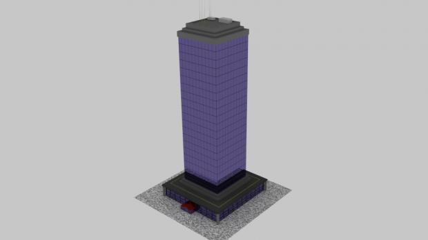 Simple Tower 3D model