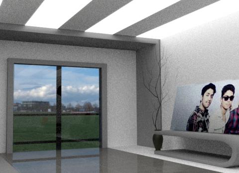 Simple room 3D model