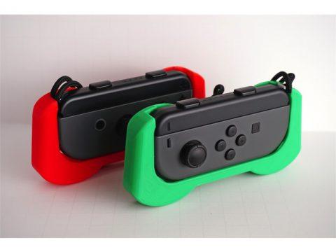 Single Joy-Con Grip - Nintendo Switch Joycon Controller Holder 3D model