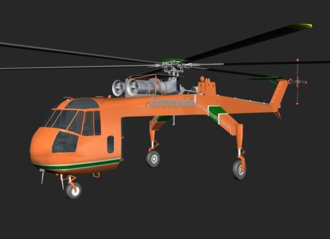 Sky Crane 3D model