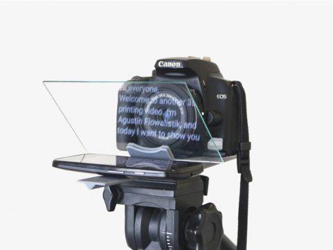 Smartphone Teleprompter - Tripod Adapter 3D model
